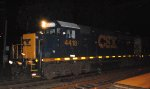 CSX GP38-2S 4418 leads C746-24
